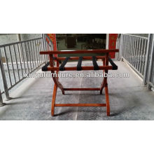 Muebles de hotel plegable portaequipajes de madera XY0826