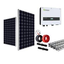 7KW en sistema de energía solar de red