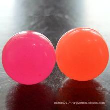 Balle rebondissante en caoutchouc de silicone personnalisé