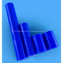 Диаметр 100 мм синий/белый PA6G бар