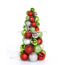 Beautiful Holiday Decorated Live Tabletop Christmas Tree
