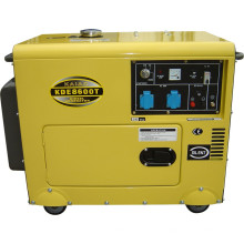 6kVA Soundproof Generador Diesel Generador 8600T eléctrico Start Soundproof