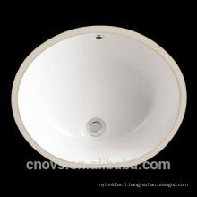 New Sanitaires CUPC salle de bains en céramique évier bol