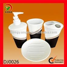 4 PCS conjunto de banho de cerâmica