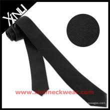 Heißer Verkauf schwarze dünne Krawatte