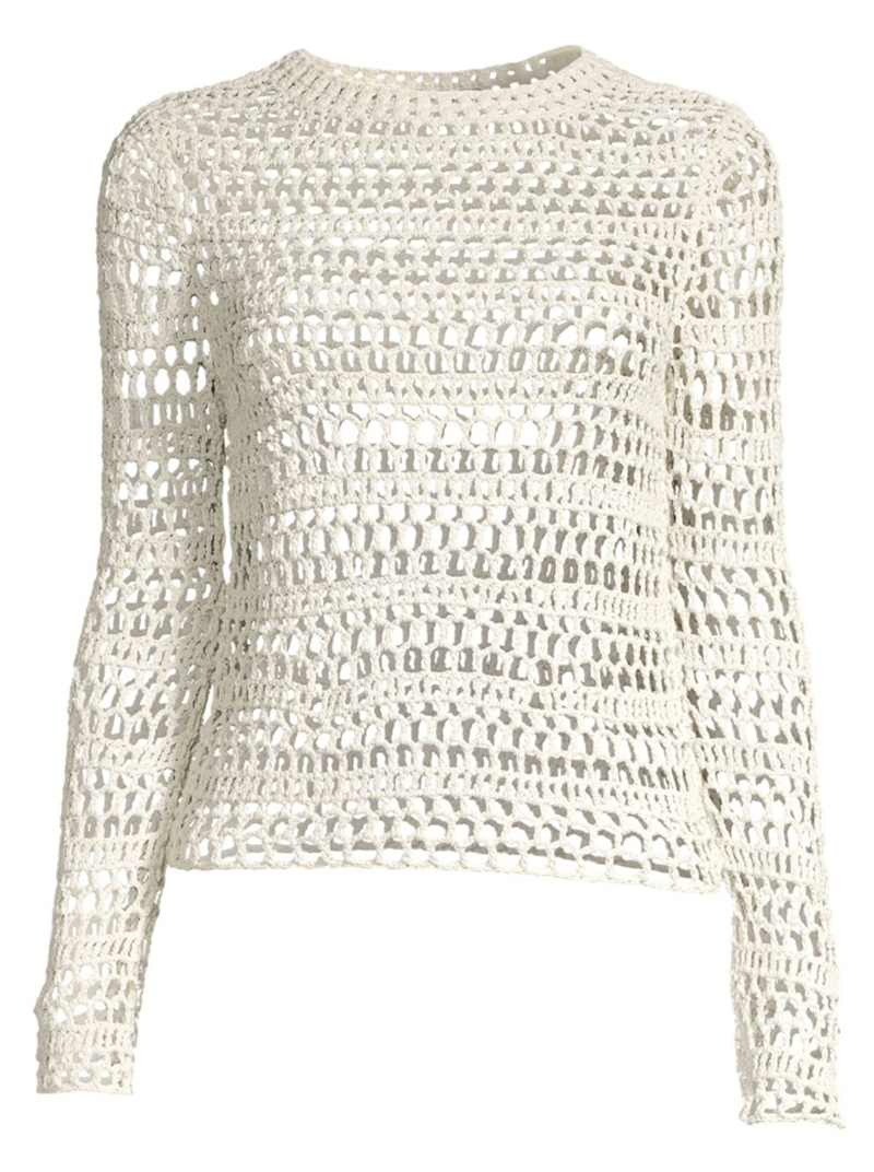 Knitted Crochet Top