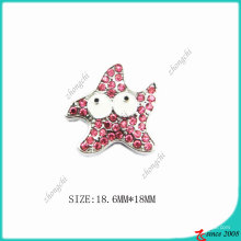 Розовый Цинк Металлический Сплав Звезда Шарм
