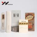 Brown art kraft design parfum ou cosmétique emballage boîte de papier