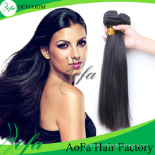 Unprocessed Virgin Brazilian Natural Black Straight Hair