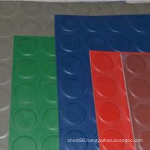 Anti-Slip Round DOT Rubber Sheet Floor Mat