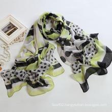 Fashion Autumn Long Polyester Voile Scarf Women Scarves