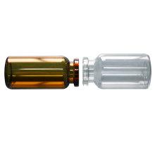 Flacon en verre siliconé
