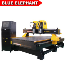 Customized Double Head 1530 CNC Machine for Engraving and Cutting