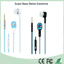 Multi- Color 3.5mm Flat Cord Stereo Earbuds (K-118)