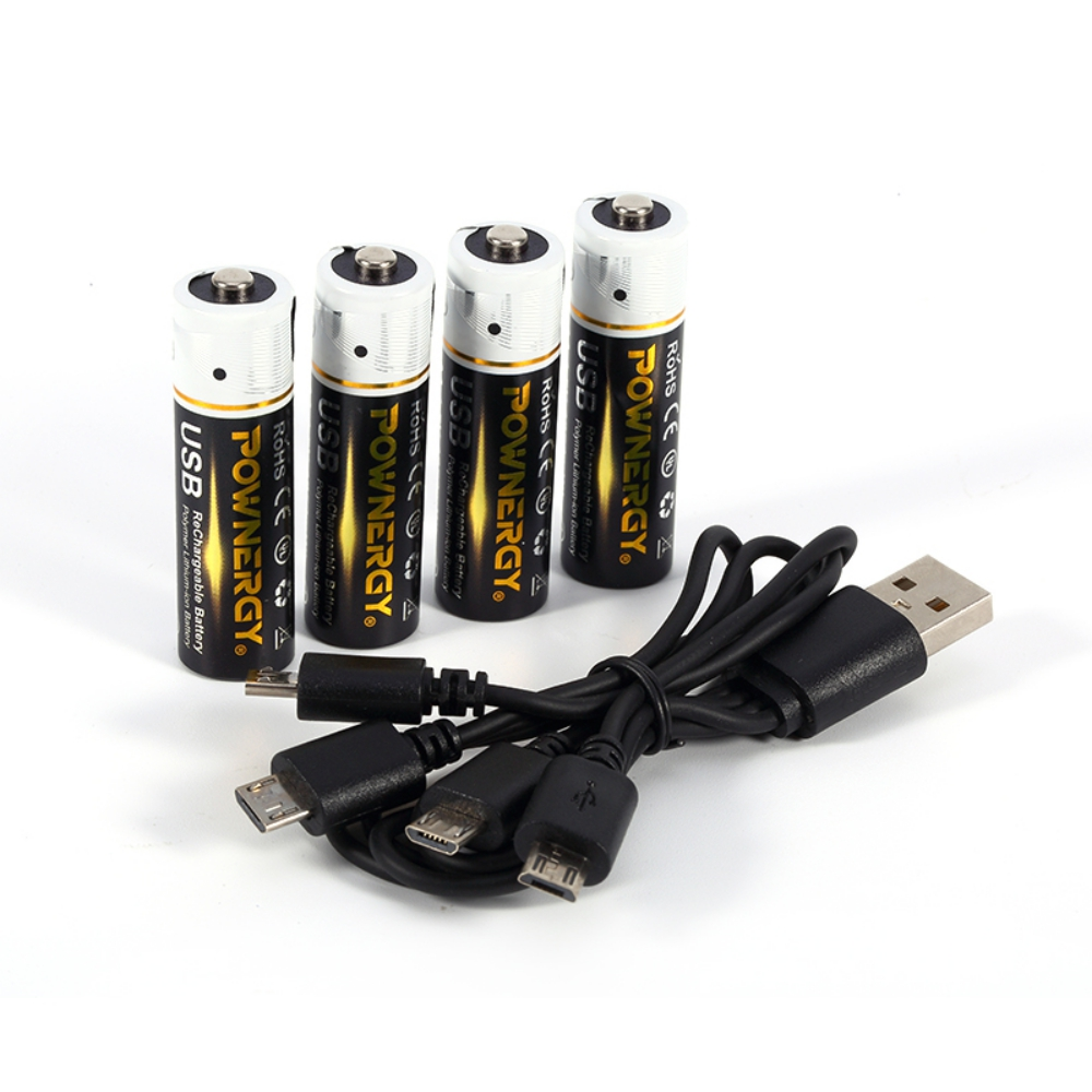 1850mWh AA Battery Iphone Charger