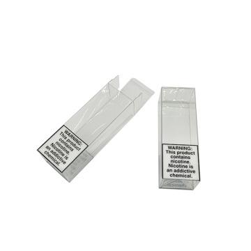 Faltbare Geschenkboxen aus klarem Acetat mit PET-PVC-Aufdruck