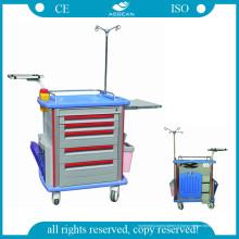 AG-Et001A1 Matériel utilisé d'ABS de chariot à hôpital