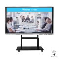 86-Zoll-All-In-One-Display-Whiteboard mit mobilem Ständer