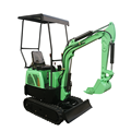 Harga China Mini Excavator Equipment With Hydraulic Hammer Mini-excavator Mesin Penggali Kecil Terkecil