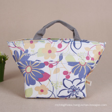 Reusable Hot Sale Custom Wholesale Polyester Cooler Tote Carry Bag For Food Packing