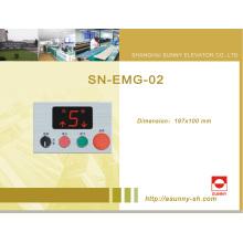 Controle caixa de manutenção do gabinete para elevador (SN-EMG-02)