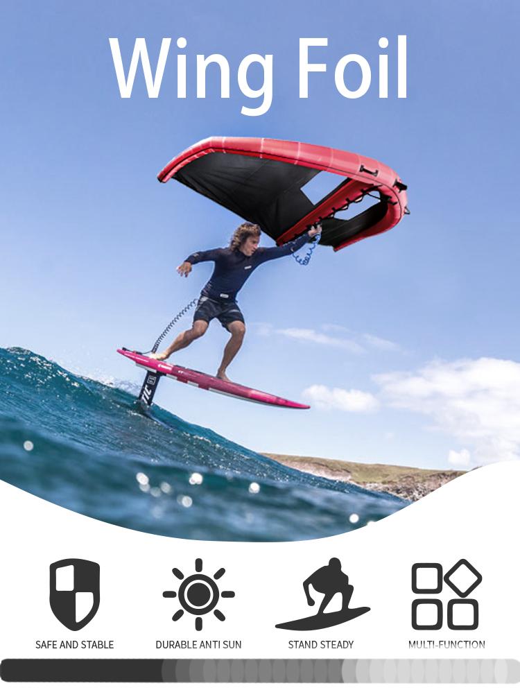 Foil Kiteboard For Kitesurfing