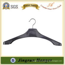 Proveedor líder de gancho de metal suspensión de moda de plástico para traje