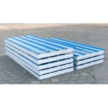 CE Certificate Full Automatic Galvanized Steel Polyurethane PU EPS Sandwich Cake Panel Production Machine Line For Sale