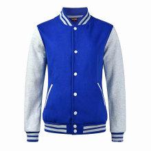 Customized Snap Button Classic Varsity Baseball Jacket Wholesale