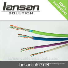 Factory Price 23awg 305m Utp Cat6 Network Cable With Pullbox Pvc Jacket Utp Cat6 Cable Price For The World Cheapest Price