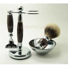 Top qualidade atacado Shaving Brush Set com cabelo Badger