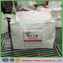 Impressão a cores big bag 1500 kg para o fertilizante, produto químico, arroz, grão, açúcar, pp super sacos virgens