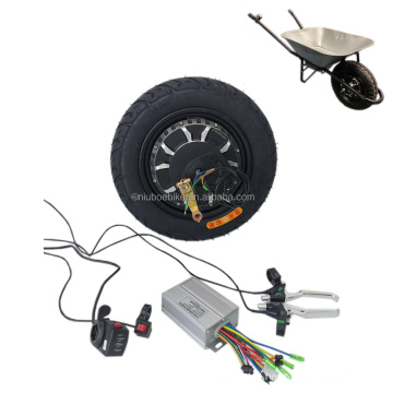 48V 500w electric hub motor kit conversion  for  Garden construction wheelbarrow