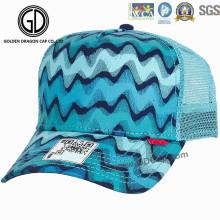 Chapeau de baseball en maille de mode Blue Summer