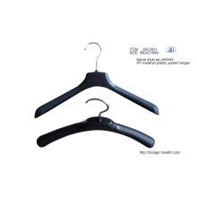 Suspensión plástica del Material de los PP, reciclado chaqueta colgador, colgador de plástico barato