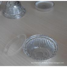 Aluminiumfolienschalen / runde Schüssel / Pizzaschale zum Essen Backen, Einfrieren, Heizung und Lagerung
