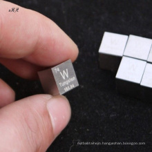 Custom Products 2kg Tungsten Cube Polished For Gift