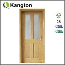 Office Wood Door with Glass (wood glass door)
