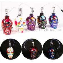 OEM Logo Glass Skull Smoking Pipe Shisha Hookah