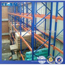 Estantería de almacenamiento de acero certificado de la plataforma del estante que apila / estantes para el almacenaje del almacén / de la tienda / del supermercado
