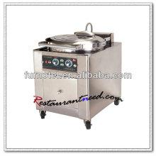 Machine électrique de crêpe d'acier inoxydable de F113