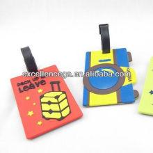 Creative silicone luggage tag