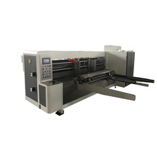 Corrugated Carton box rotary die cutting making machine/Hebei Automatic carton box packing machine