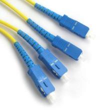 Multi modo SC UPC DX Fibra Óptica Patch Cord, com UPC SC Fiber Cable