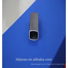 MS tubos retangulares de aço fino oco
