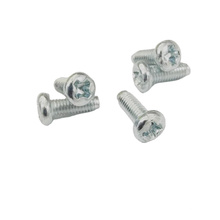 Hex Socket Button Flat Round Head Machine Screw
