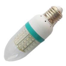 3w glass candelabra led bulb light 220v b22