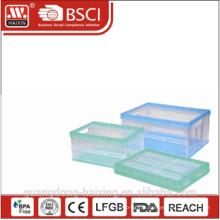 Conteneur de stockage pliable en plastique