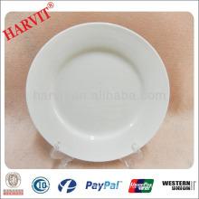 10.5'' Porcelain Stock Dinner Plate
