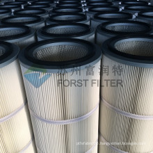 FORST Industrial Polyester Dust Filter Cartridge For Air Cleaning